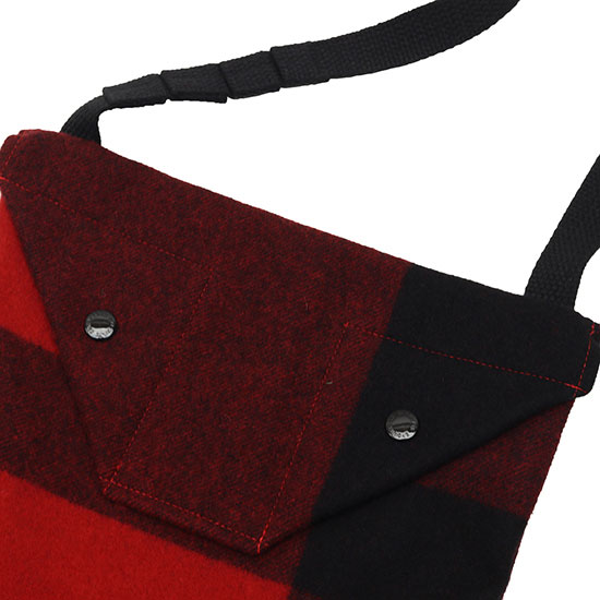 Engineered Garments[エンジニアド ガーメンツ]SHOULDER POUCH WOOL MELTON