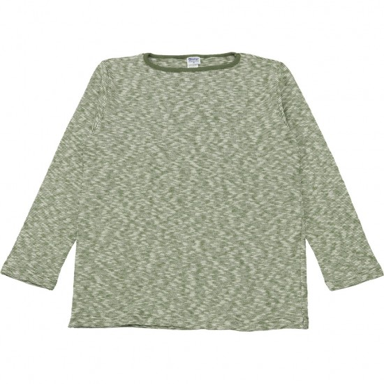 TIEASY AUTHENTIC CLASSIC[ティージーオーセンティッククラシック]ORIGINAL MIX BORDER BOATNECK SHIRTS