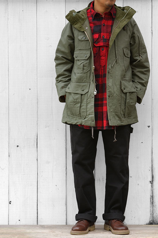 【色追加】Engineered Garments[エンジニアド ガーメンツ]FIELD PARKA COTTON DOUBLE CLOTH