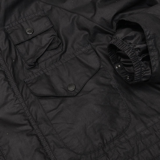 Engineered Garments[エンジニアド ガーメンツ]BARBOUR ZIP PARKA WAX