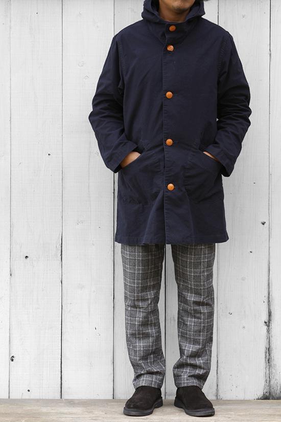grown in the sun[グローンインザサン]Fishermans Coat G2E-1808
