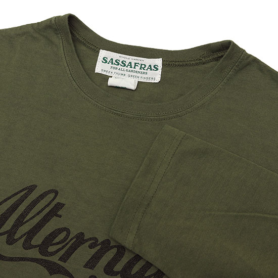 SASSAFRAS[ササフラス]Alternative 9/10 SLEEVE T-SHIRT