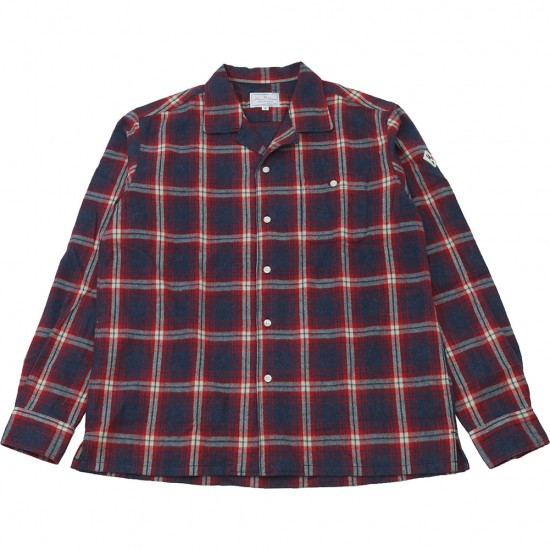 ARVOR MAREE[アルヴォマレー]ONENAP L/S SHIRT Flannel Shirt