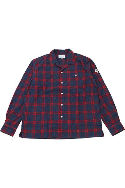 ARVOR MAREE[アルヴォマレー]ONENAP L/S SHIRT Flannel Shirt