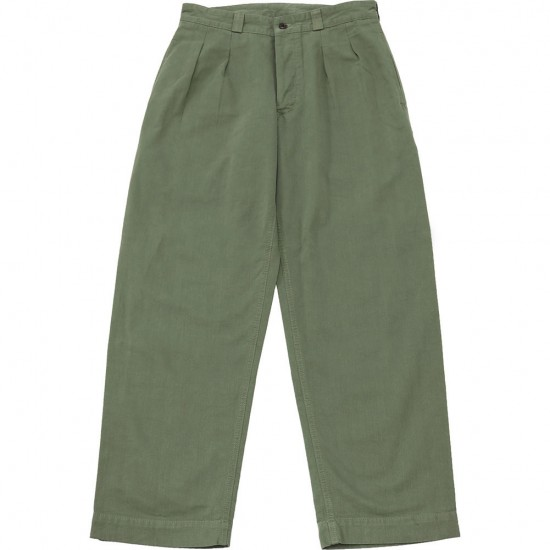 grown in the sun[グローンインザサン]WIDE ARMY PANTS G2D-1706