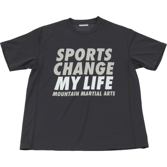 MOUNTAIN MARTIAL ARTS[マウンテンマーシャルアーツ]Sports Change My Life Big Tee