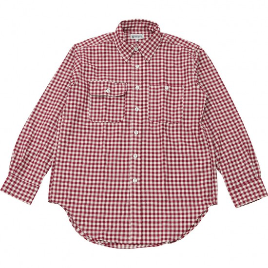 Engineered Garments[エンジニアド ガーメンツ]WORKADAY UTILITY SHIRTS GINGHAM CHECK