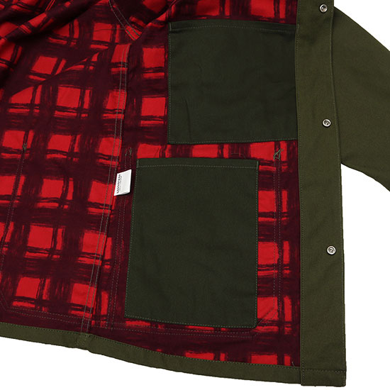 SASSAFRAS[ササフラス]Green Thum Jacket+ DUCK