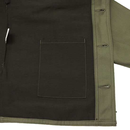 SASSAFRAS[ササフラス]Leaf Pruner Tube Jacket Backsatin