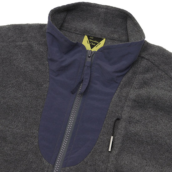 melple[メイプル]Marced Stand Neck Fleece Jacket MP021