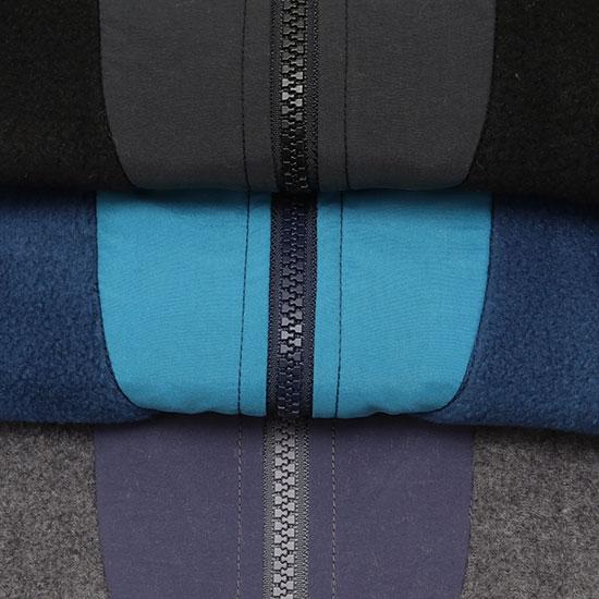 melple[メイプル]Marced Stand Neck Fleece Jacket MP021