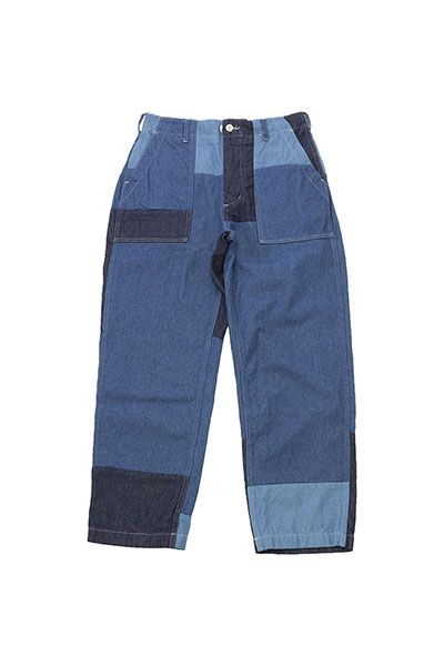 Engineered Garments[エンジニアド ガーメンツ]Fatigue Pant Washed 8oz Denim