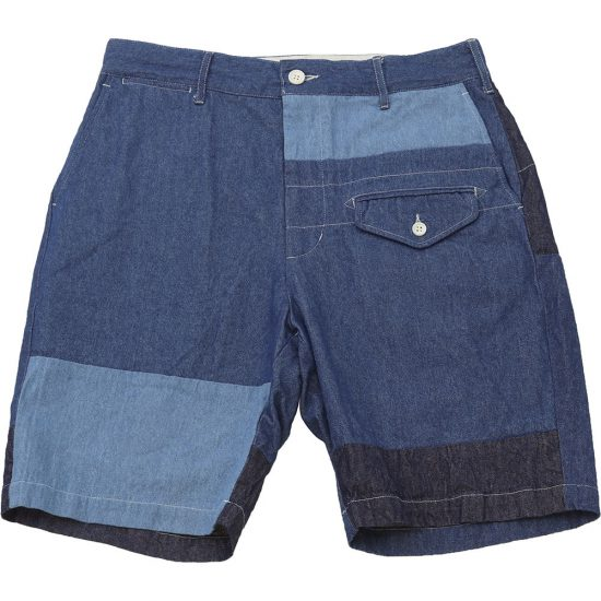 Engineered Garments[エンジニアド ガーメンツ]Ghurka Short Washed 8oz Denim