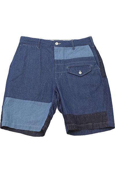 Engineered Garments[エンジニアド ガーメンツ]Ghurka Short Washed 8oz Denim