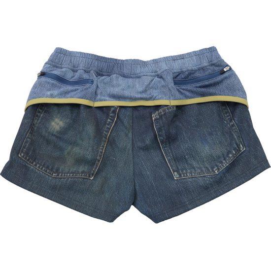 【LADIES】MOUNTAIN MARTIAL ARTS[マウンテンマーシャルアーツ]Womens Crazy Denim Run Shorts