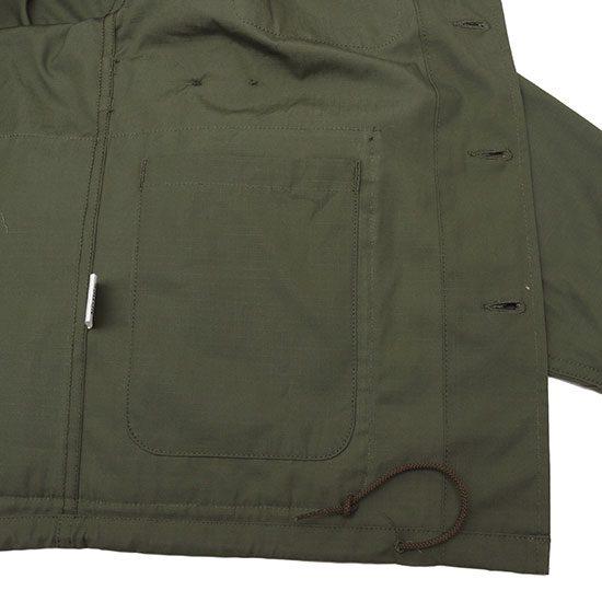 SASSAFRAS[ササフラス]Garden Hole Jacket Ripstop