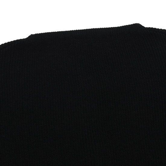 nowos[ノーウォス]コットンリブVネックカーディガン 4702004886
