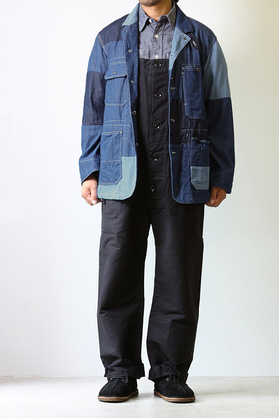 (メンバー限定)Engineered Garments[エンジニアド ガーメンツ]Logger Jacket Washed 8oz Denim
