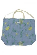 Engineered Garments [エンジニアド ガーメンツ]Carry All Tote Denim Floral Embroidery EF058