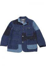 Engineered Garments[エンジニアド ガーメンツ]Logger Jacket Washed 8oz Denim