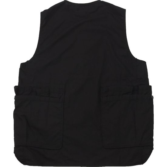 SASSAFRAS[ササフラス]Whole Hole Vest Poplin×Nylon Taffeta