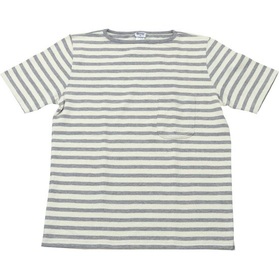 TIEASY AUTHENTIC CLASSIC[ティージーオーセンティッククラシック]HDCS BOATNECK POCKET SS BORDER
