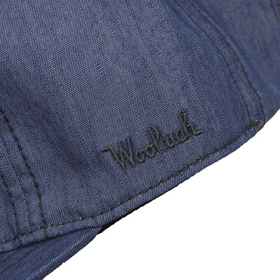 WOOLRICH OUTDOOR[ウールリッチアウトドア]CANVAS DENIM CAP NOCAP1941