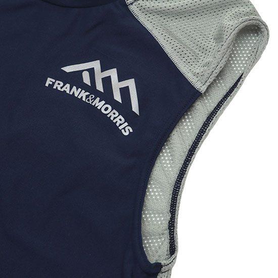 FRANK&MORRIS[フランクアンドモリス]MESH SLEEVELESS FM003-03