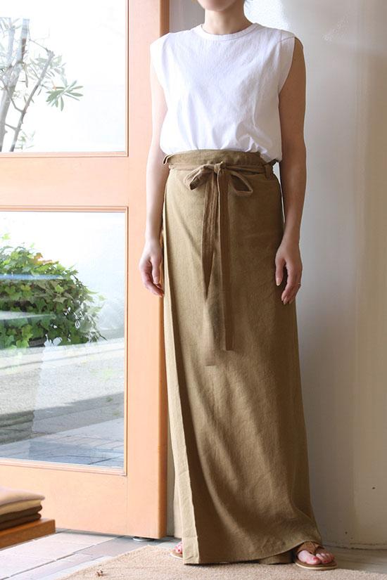nowos[ノーウォス]Wrap pants 4706005347