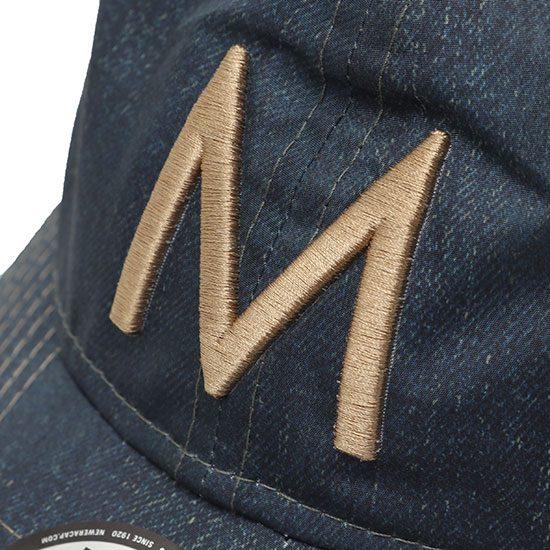 MOUNTAIN MARTIAL ARTS[マウンテンマーシャルアーツ]MMA×NEW ERA 5th Aniv.Denim Trucker Cap MMA16-56