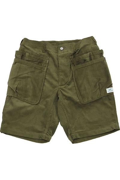 SASSAFRAS[ササフラス]Whole Hole Pants 1/2 SF-191460