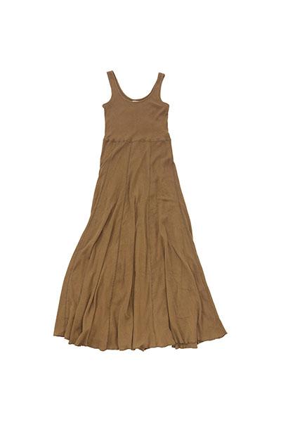 nowos[ノーウォス]Rib dress 4701005365