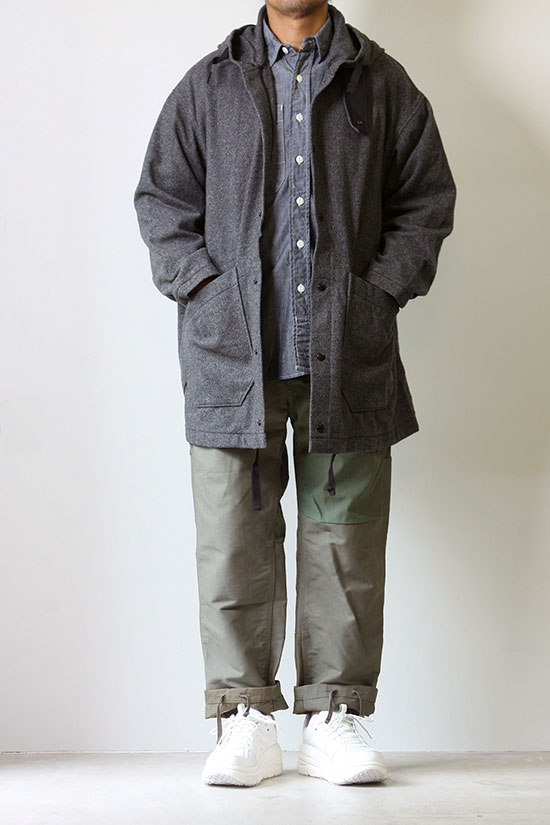 Engineered Garments[エンジニアド ガーメンツ]Madison Parka Blend Diagonal