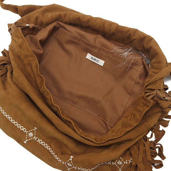 nowos[ノーウォス]Suede bag 4923005422