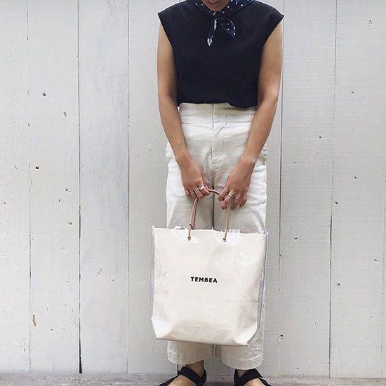 TEMBEA[テンベア]PAPER BAG PVC TMB-1985N