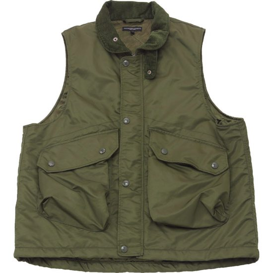 Engineered Garments[エンジニアド ガーメンツ]Field Vest Flight Satin Nylon
