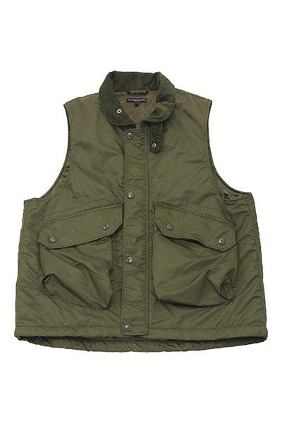Engineered Garments[エンジニアド ガーメンツ]Field Vest Flight Satin Nylon