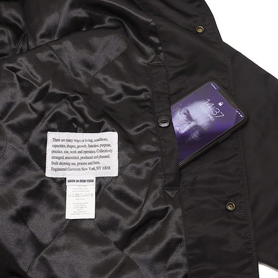 Engineered Garments[エンジニアド ガーメンツ]Ground Jacket Flight Satin Nylon