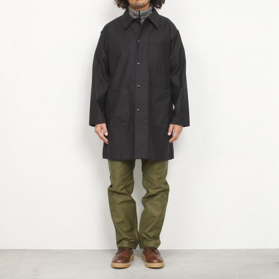 Engineered Garments[エンジニアド ガーメンツ]Workaday ShopCoat Reversed Sateen