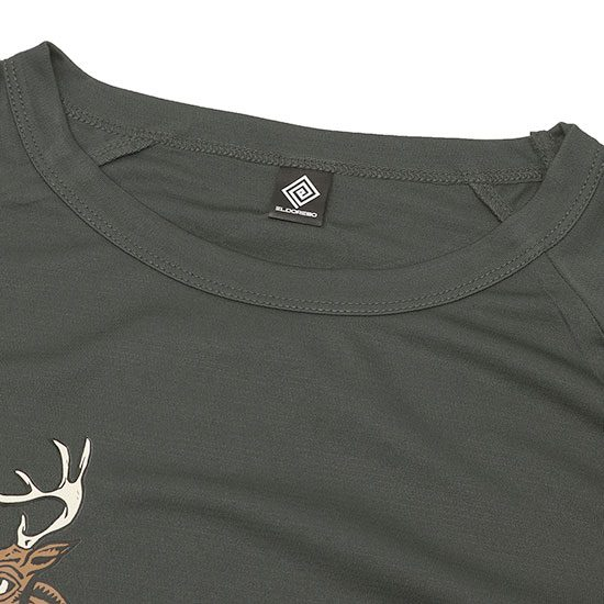 ELDORESO[エルドレッソ]Deer Raglan T E1003729 ※メール便対応可