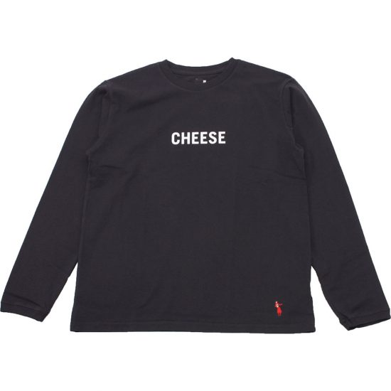 grown in the sun[グローンインザサン]Long Sleeve T-Shirts CHEESE BURGER