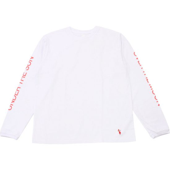 grown in the sun[グローンインザサン]Long Sleeve T-Shirts UNDER THE SUN OVER THE MOON