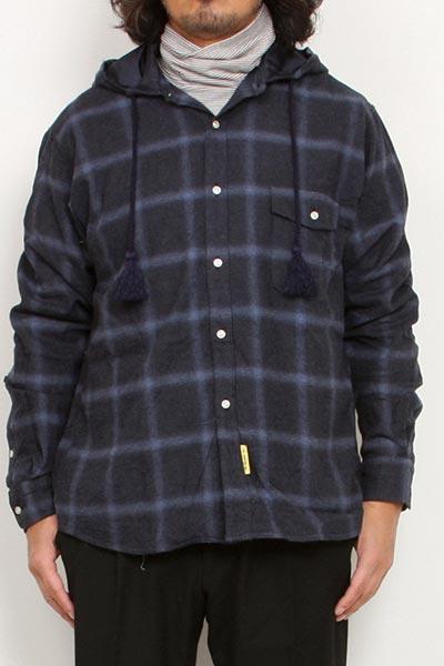 melple[メイプル]Seaview Hooded Shirts MP009