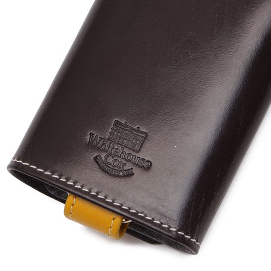 Whitehouse Cox[ホワイトハウスコックス]S9692 KEY CASE WITH RING ホリデーライン2019/2020