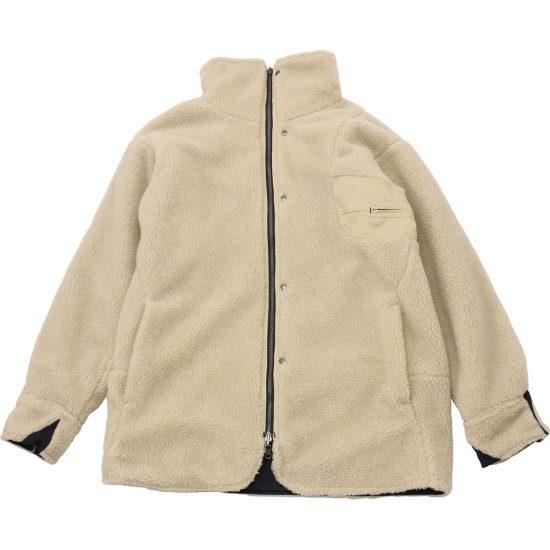 senelier[セネリエ]aerosolbox reversible boa coat