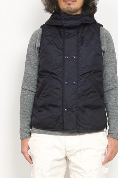 SASSAFRAS[ササフラス]Blower Bud Vest Nylon Tafta Quilt SF-191526
