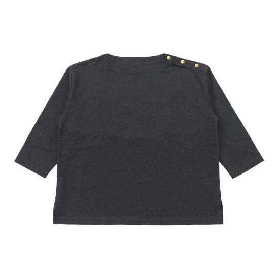 Traditional Weatherwear[トラディショナルウェザーウェア]BF CREW NECK PO 肩ボタン天竺カットソー L192CJPO0169FM