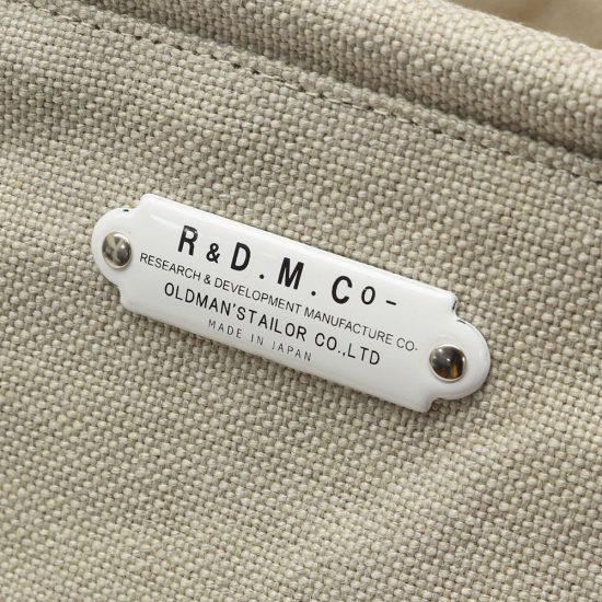 OLDMAN'S TAILOR/R&D.M.Co-[オールドマンズテーラー]マルシェバッグ スモール 810