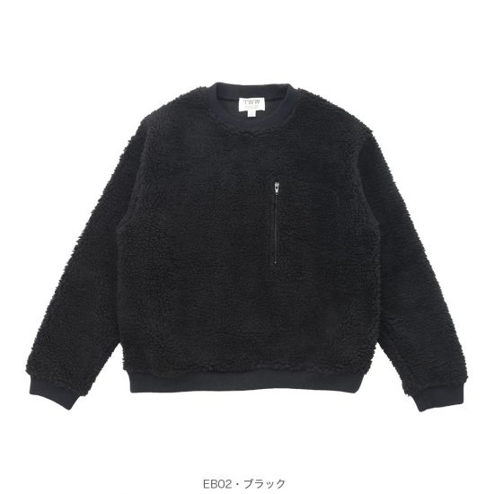Traditional Weatherwear[トラディショナルウェザーウェア]クルーネックボアプルオーバー G192HJPO0048EB