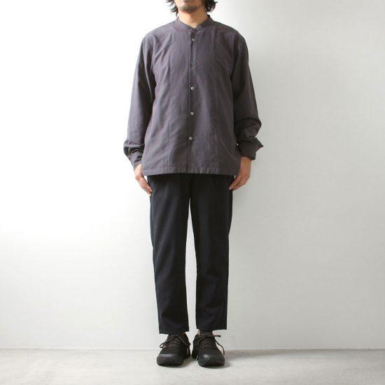 LAMOND[ラモンド]BAND COLLAR SHIRT LM-S-035